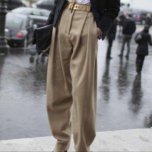 Very J High Waist Oversized Neutral Trouser